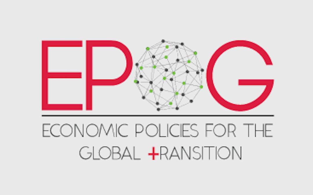 Master Erasmus Mundus EPOG+ (Economic Policies For The Global Transition)