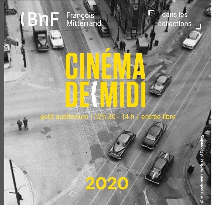 Cycle 2019-2020 du Cinéma de midi