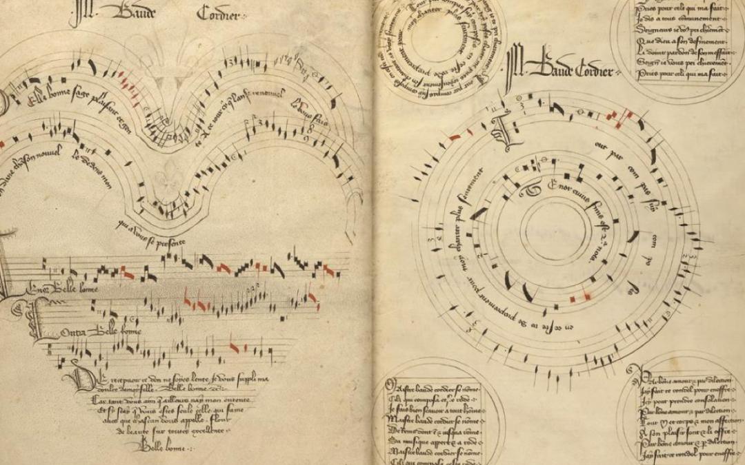 Colloque «Ut musica poesis. Poèmes partitions au Moyen-Âge et aujourd'hui»