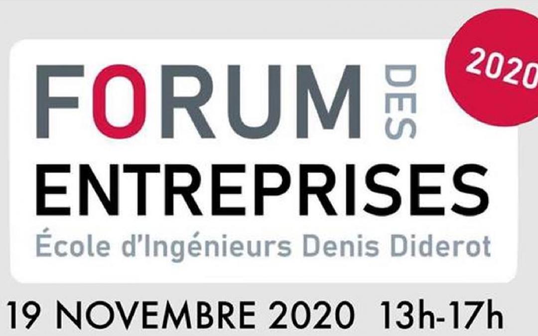Forum des entreprises 2020