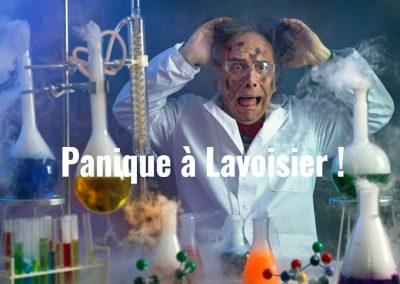 """Illustration mission """"Panique à Lavoisier"""""""