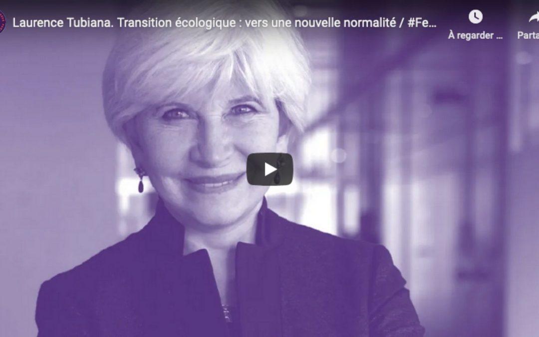 Conférence inaugurale : Transition écologique, vers une nouvelle normalité – avec Laurence Tubiana