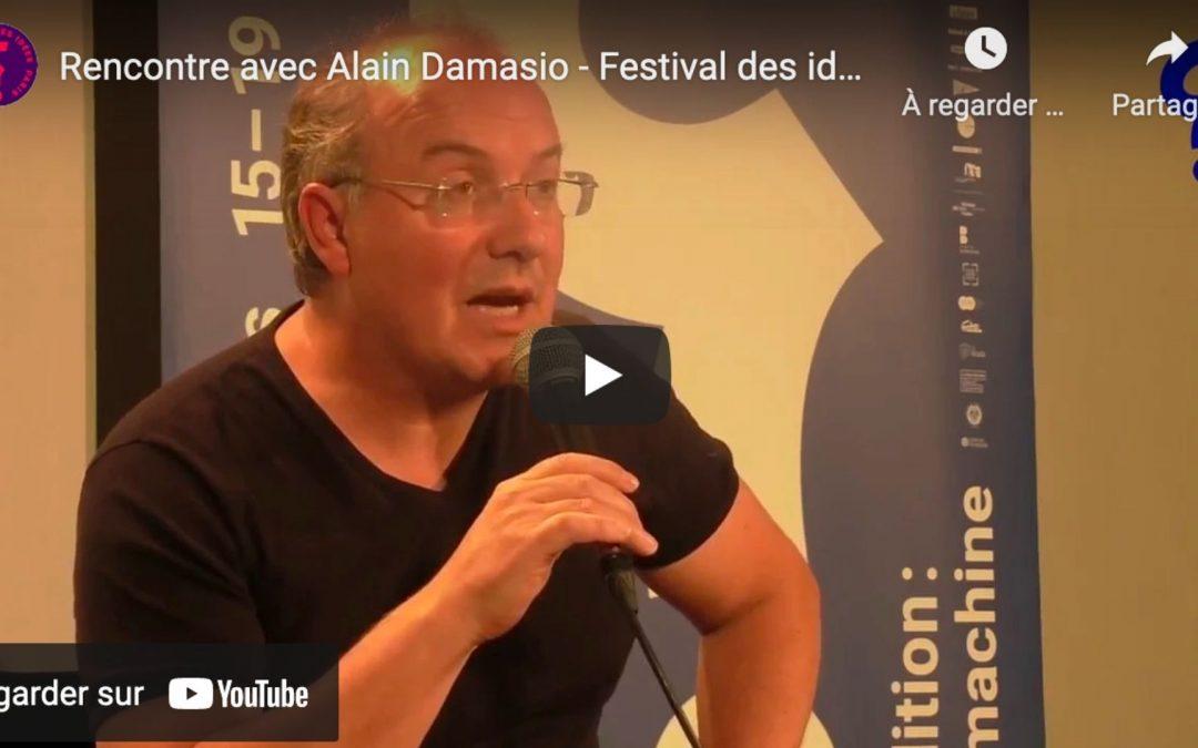 Rencontre avec Alain Damasio : a-t-on peur de ne pas être des machines ?