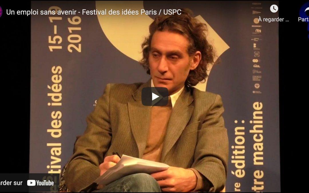 Un emploi sans avenir – avec Dominique Méda, Ariel Kyrou & Bruno Palier