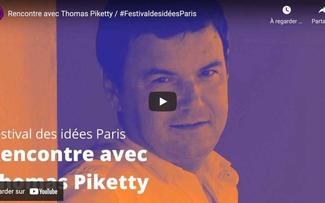 Rencontre avec Thomas Piketty