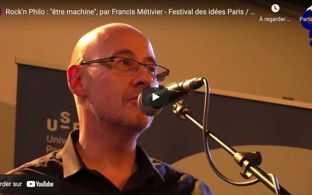 Rock'n Philo : édition spéciale Festival des idées Paris