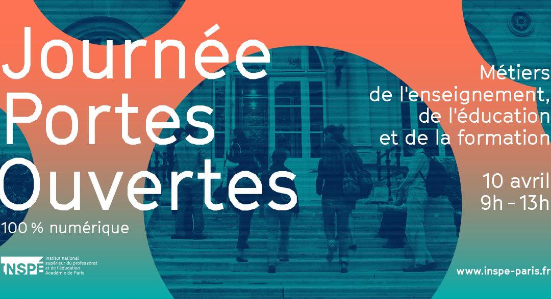 Journée Portes Ouvertes – INSPE Paris – 2021