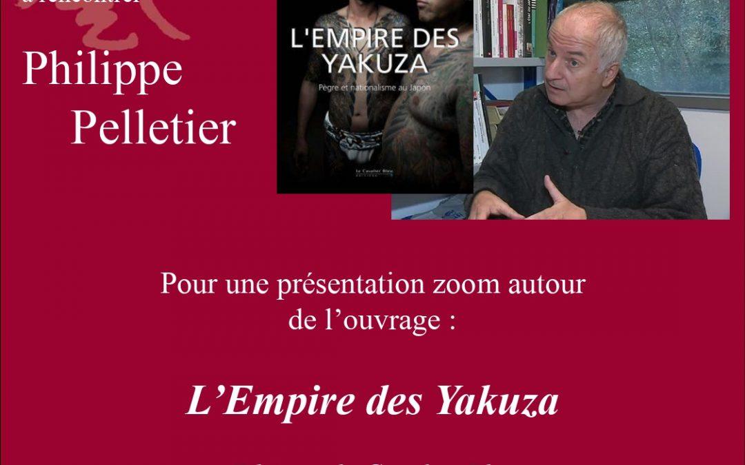 Conférence autour du dernier livre du Professeur Philippe Pelletier