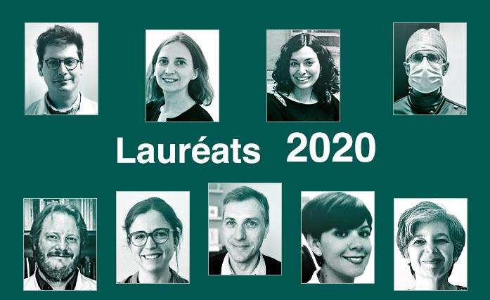 Lauréats 2020