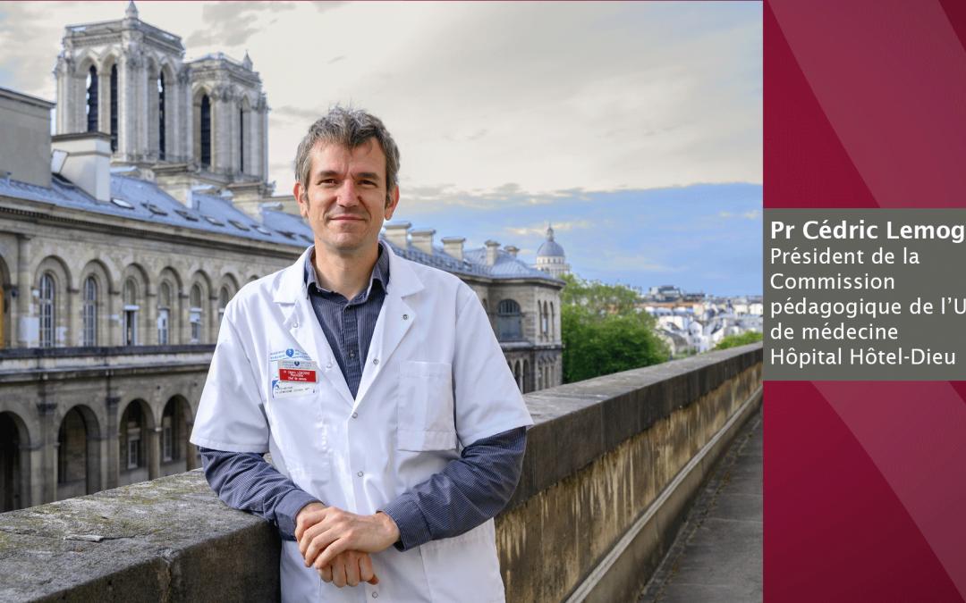 Élections : Pr. Cédric Lemogne, Président de la Commission pédagogique de l'UFR de médecine d'Université de Paris