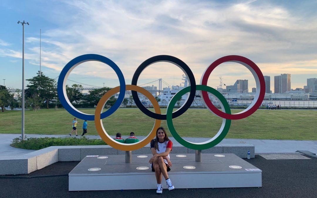 Jeux Olympiques Tokyo 2020 – Blandine Pont représente l'UFR d'Odontologie