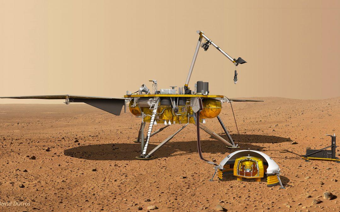 Conférence publique «Insight sur Mars»