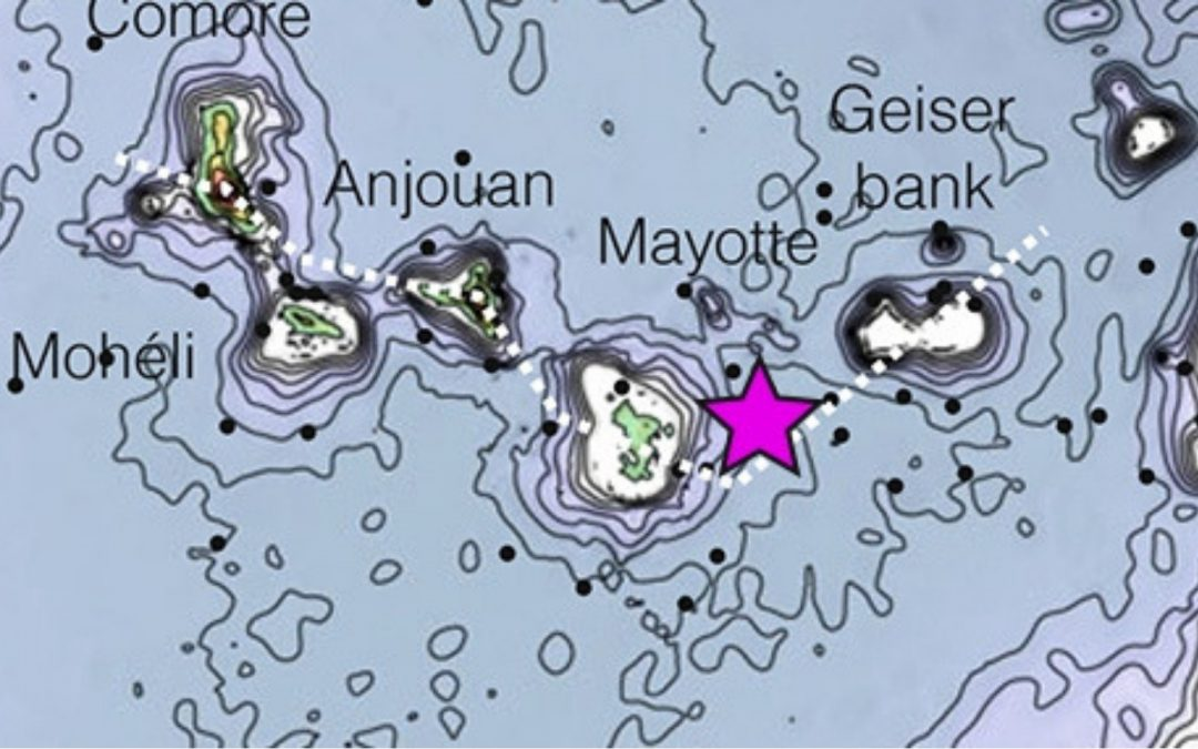 Observation de l'activité sismique à Mayotte