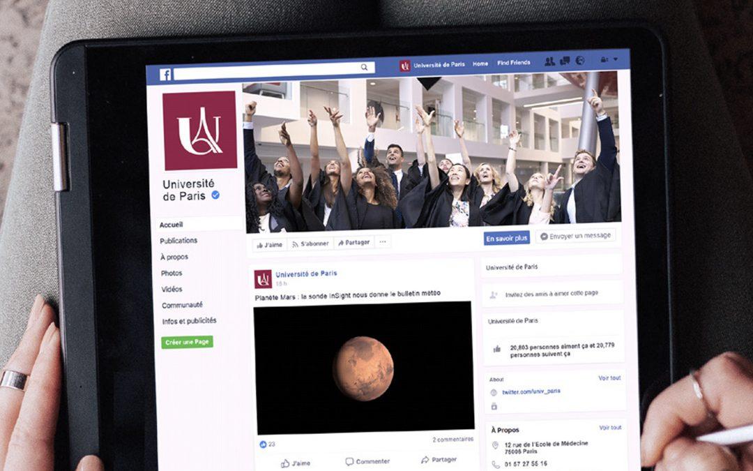 Restez connectés à l'actualité de l'Université de Paris
