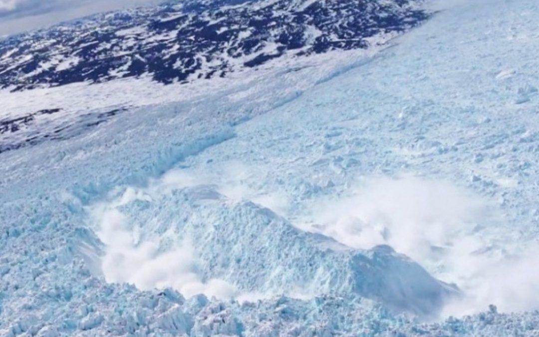 Quantifier la production d'icebergs grâce aux séismes
