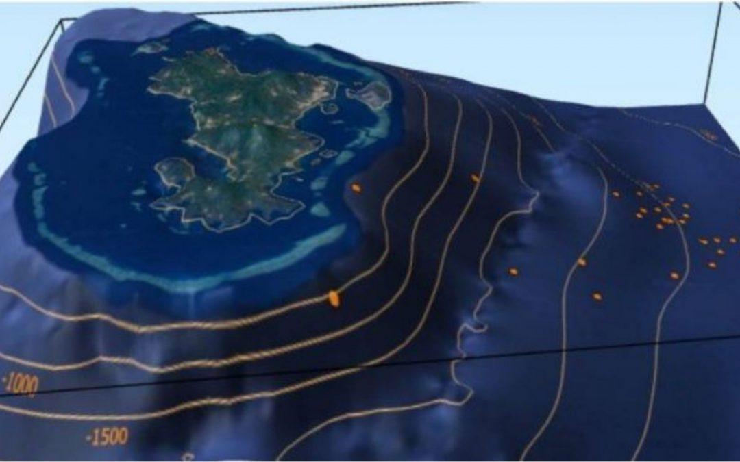 Naissance d'un nouveau volcan sous-marin à l'Est de Mayotte