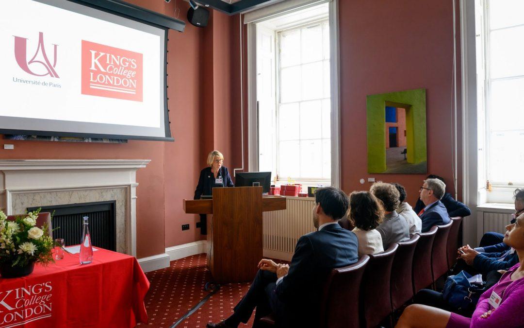 Un partenariat stratégique avec King's College London