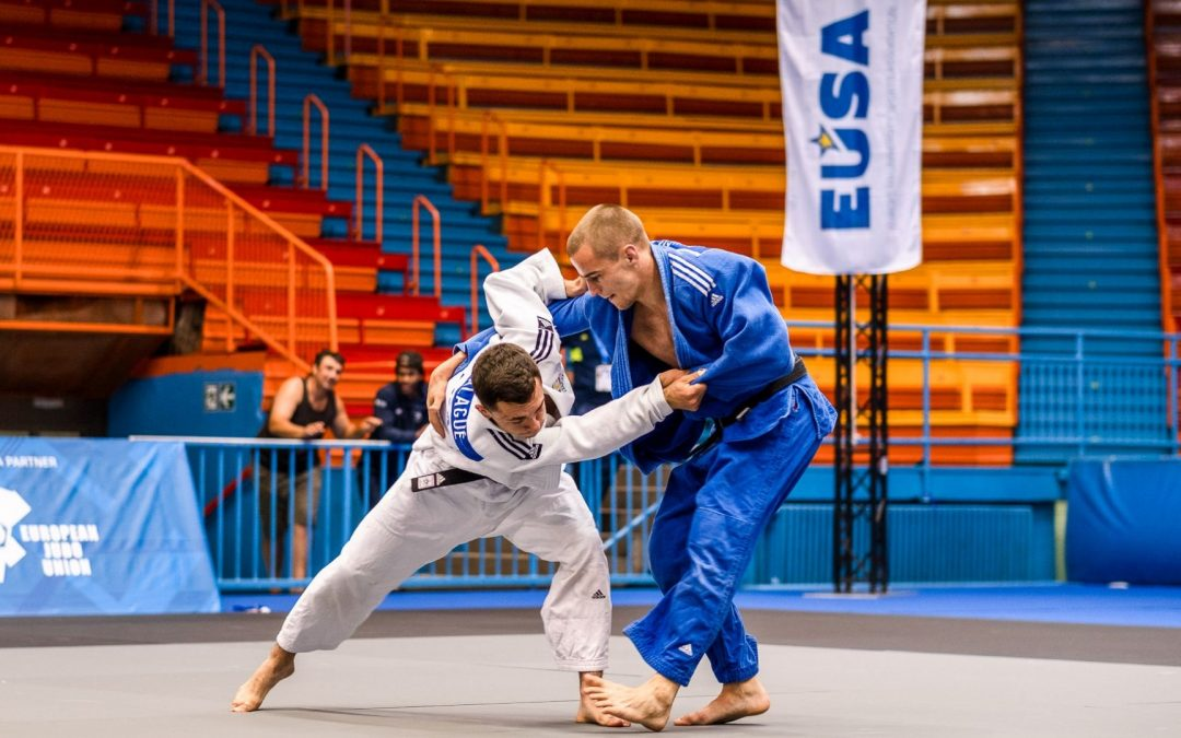 Théo Raoul Hebrard, champion d'Europe universitaire de judo