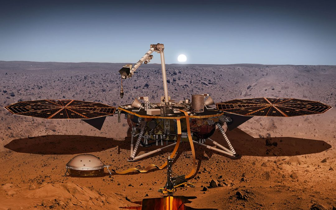 Mission InSight sur Mars : un an déjà !