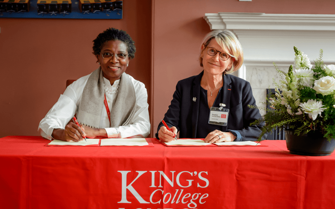 A strategic partnership with King's College London