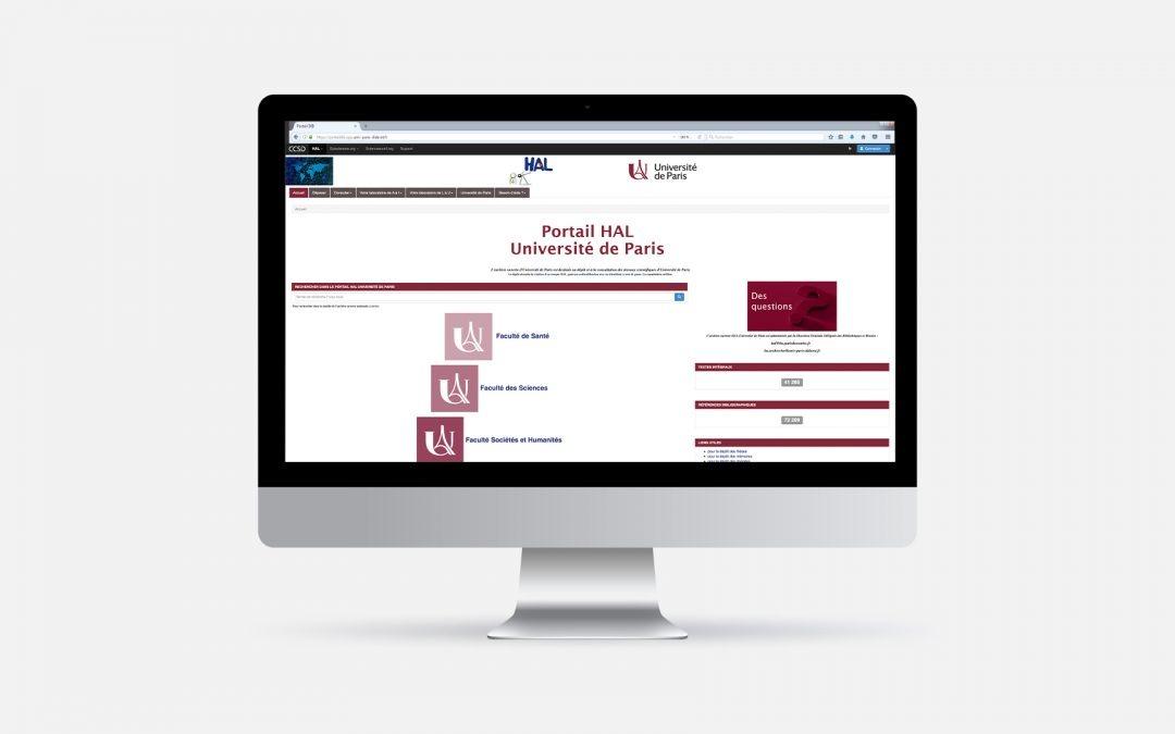 L'archive ouverte d'Université de Paris est en ligne