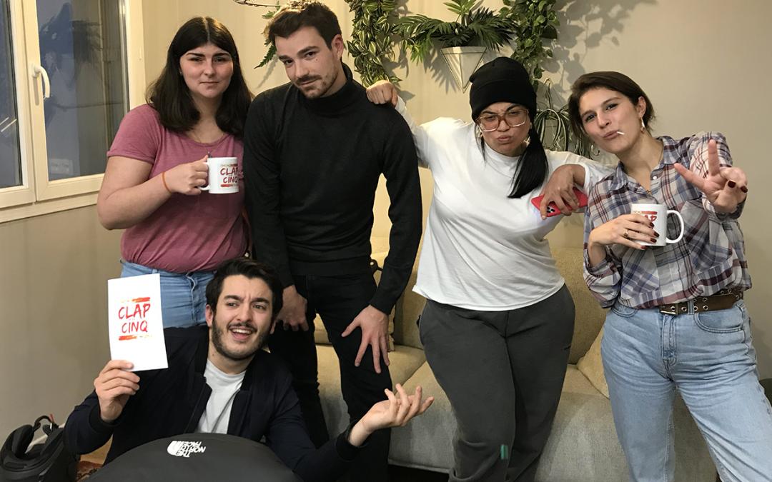 Pas de repos pour Clap m'en Cinq, le podcast cinéma étudiant