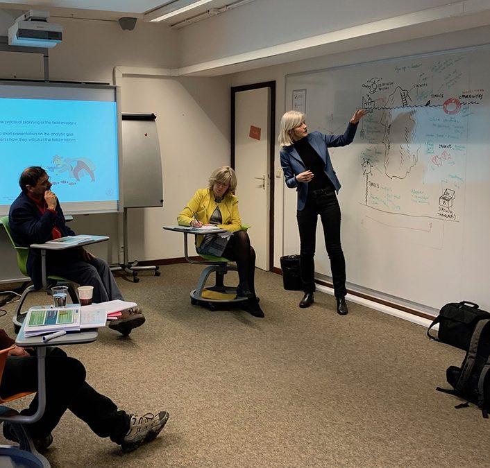 InnovEd4TS : première visite virtuelle à l'Université d'Oslo