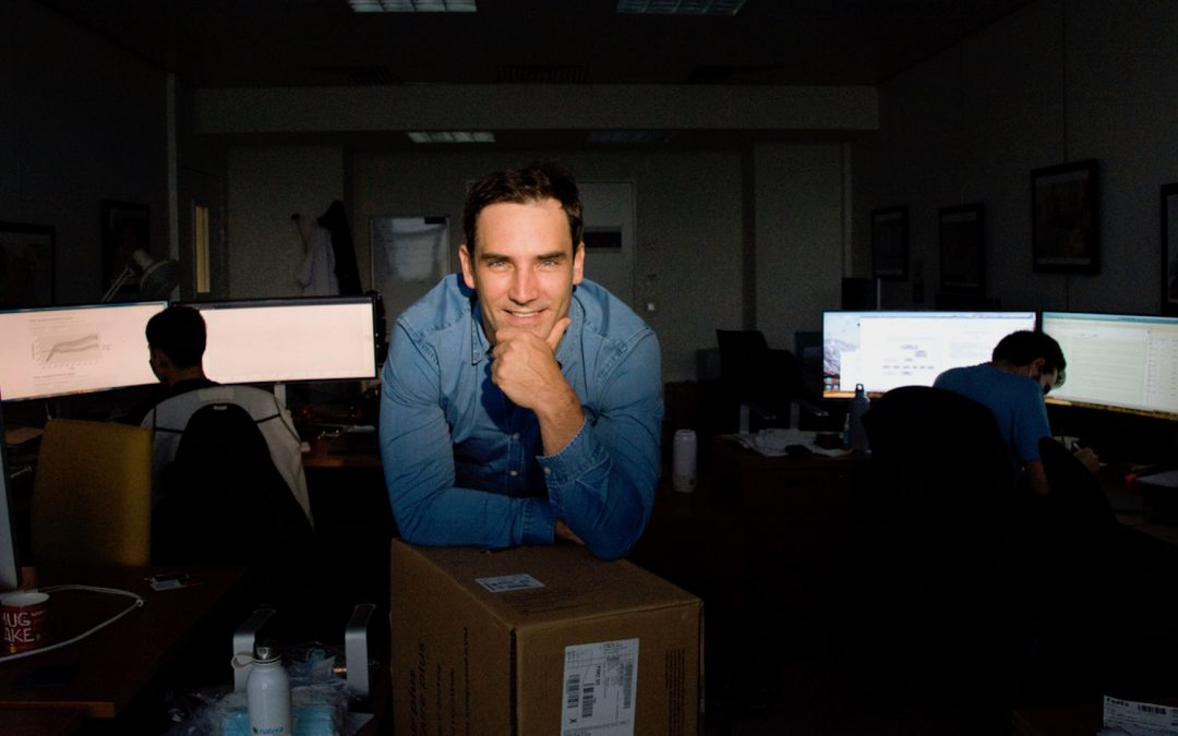 Alexandre Loupy, lauréat du Prix des Innovateurs en santé 2020
