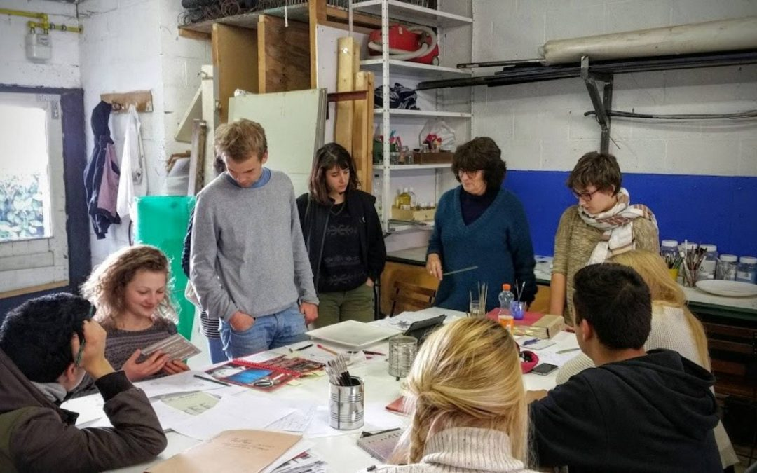 InnovEd4TS : When Art meets Science at UCLouvain