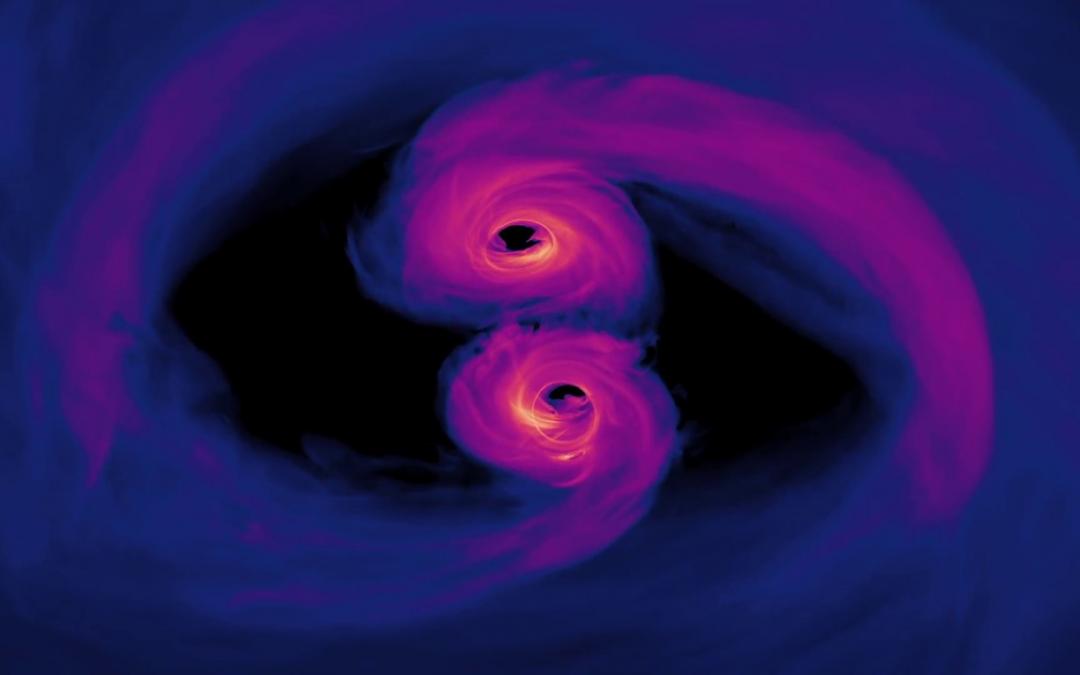 Fusion de trous noirs: un code pour retracer l'histoire d'une vie stellaire