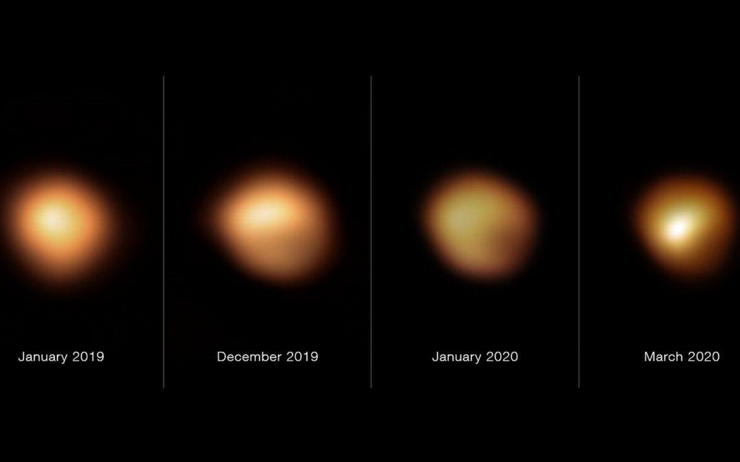 Bételgeuse : sa perte de luminosité historique enfin expliquée
