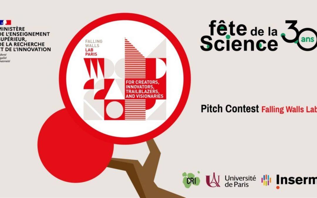 Appel à propositions « Pitch Contest Falling Walls Lab Paris 2021 »