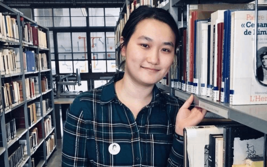 Melody Xu Yang's journey as a multilingual PhD student in French Literature